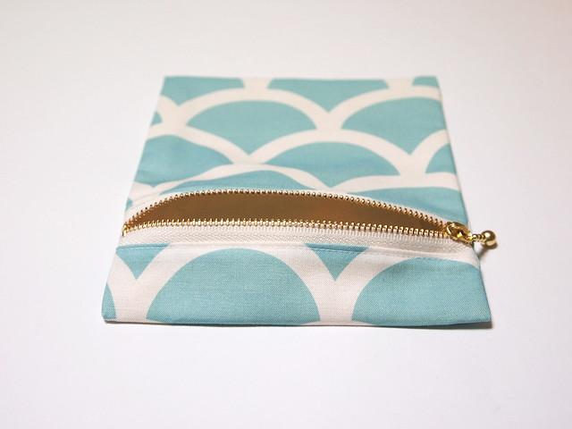 zipper pouch - mermaid