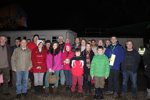 Stargazing Live at Jodrell Bank, Tuesday 8th January 2013: Group Shot