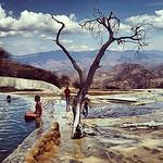 Hierve el Agua springs, blue like no other #Mexico #Oaxaca