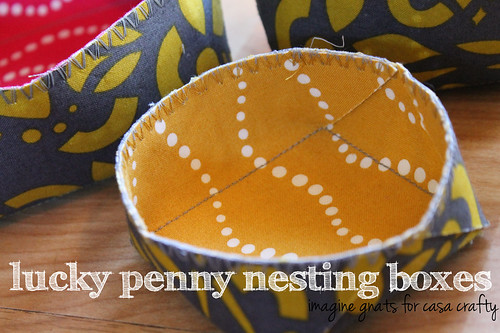 lucky penny nesting boxes