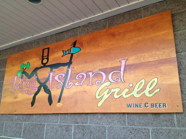 Big Island Grill sign