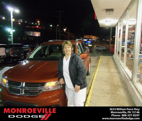 Congratulations to Renee Sero on the 2013 Dodge Journey by Monroeville Dodge