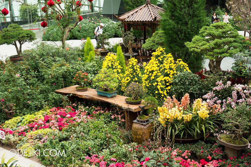 Gardens by the Bay - Bonsai Garden arrangements