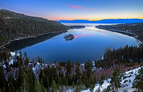 Emerald Bay Sunrise: Tahoe Blue