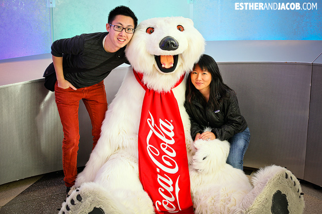 Coca-cola polar bear World of Coca Cola Museum | Tourists at Home Atlanta Edition
