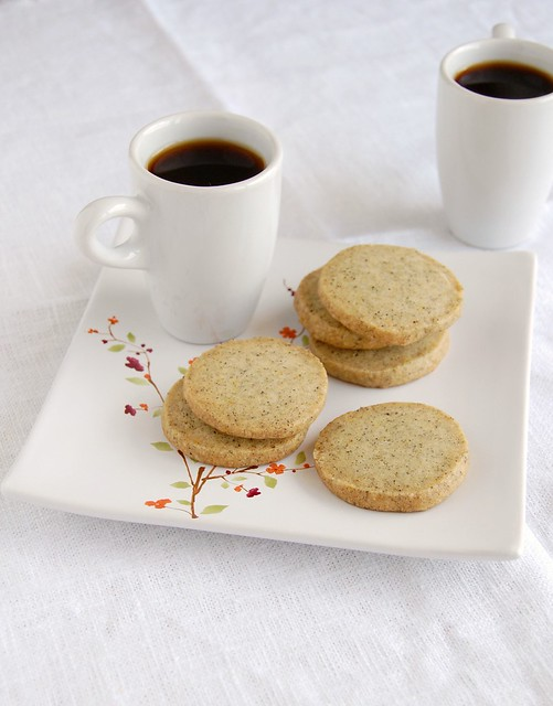 Lady Grey tea cookies / Biscoitinhos de chá Lady Grey