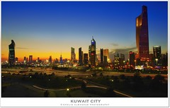 Kuwait City - Burning horizon
