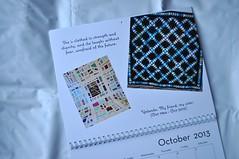 October ~ Calendar Page for Yolanda