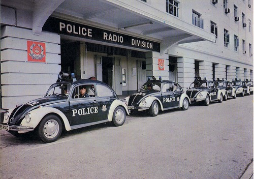 Radio Cars at Police Division(Colour)