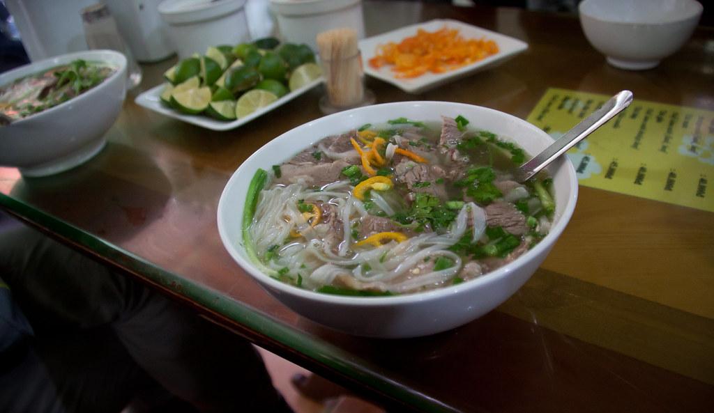 Soupe Pho dans le Vieux Hanoi - Photo de Chris Goldberg