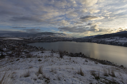 city morning lake canada mountains cold ice clouds canon landscape town cool pretty colours bc view lakes lookout valley vernon kalamalka