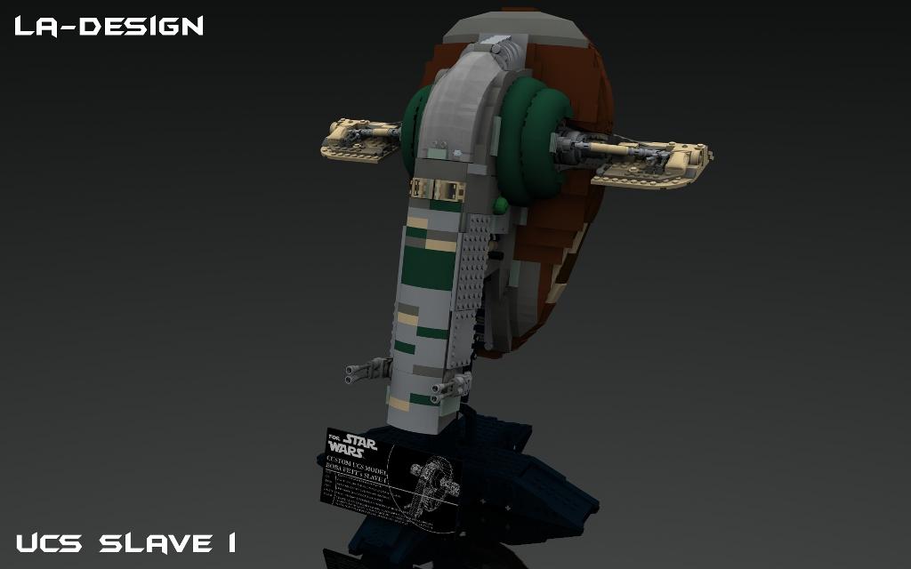 Lego Custom Star Wars Kamino Platform With Slave I 5 A Photo On