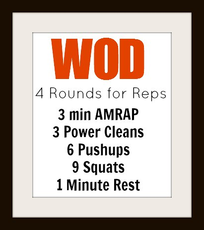 tuesday wod