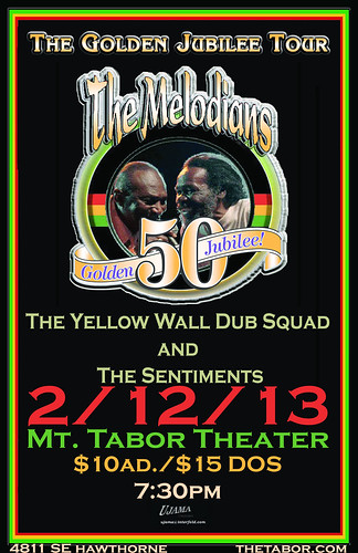 The Melodians @ Mt. Tabor Theater