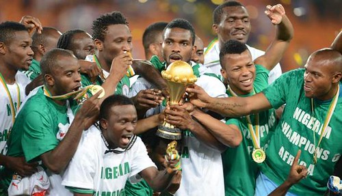 Nigeria beats Burkina Faso for Africa Cup championship. The matches took place in the Republic of South Africa. by Pan-African News Wire File Photos