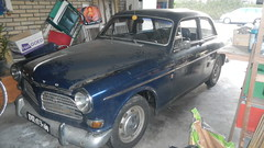 automobile, automotive exterior, vehicle, mid-size car, antique car, volvo cars, sedan, classic car, vintage car, land vehicle, volvo amazon,