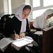 Girls study in Jawzjan province Afghanistan