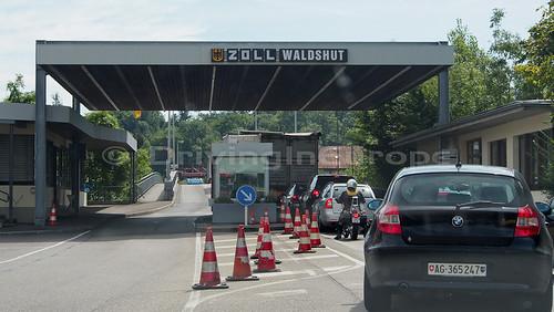 ドイツ側国境