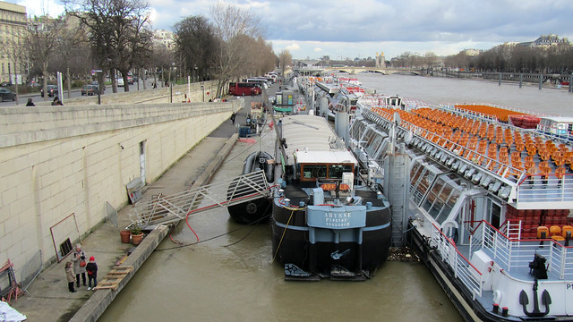Crue of River Seine