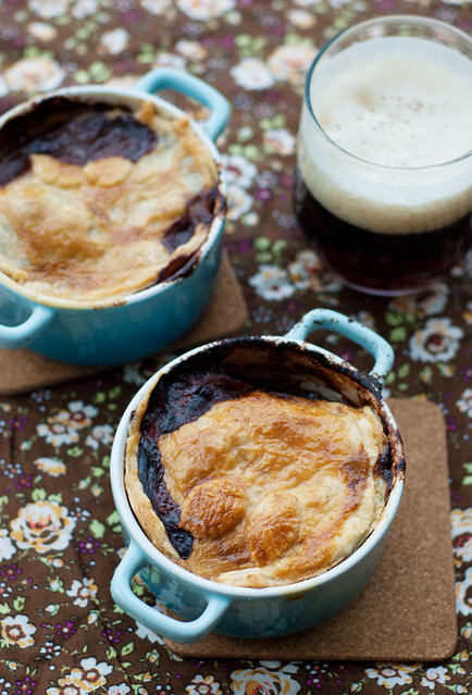 beef and dark ale pie