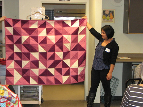Tamara's quilt for her daughter's first birthday