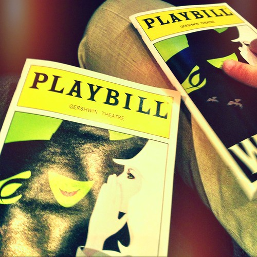wicked @ the gershwin theatre
