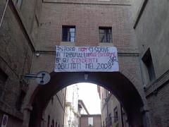 Siena -  la storia non si scrive nei tribunali