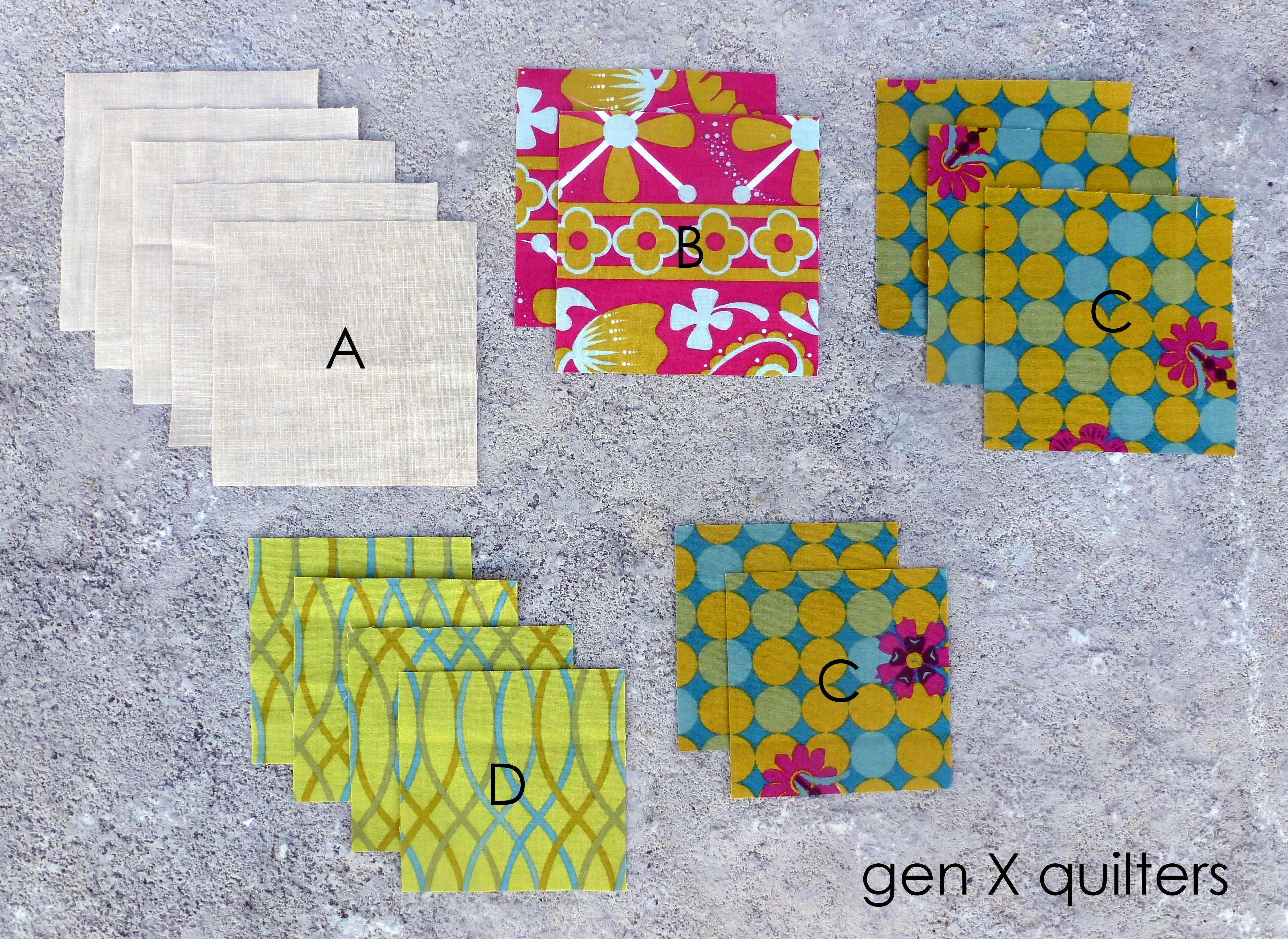 March sisters' ten fabrics