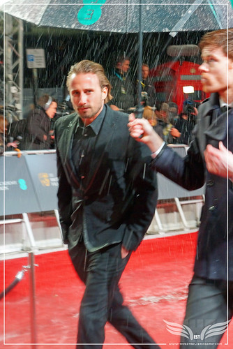 The Establishing Shot: EE BAFTAs RED CARPET MATTHIAS SCHOENAERTS ARRIVES RUST AND BONE BULLHEAD by Craig Grobler