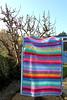 Attic 24 Inspired Granny Stripe Baby Blanket