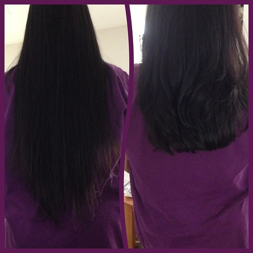 Back view before and after