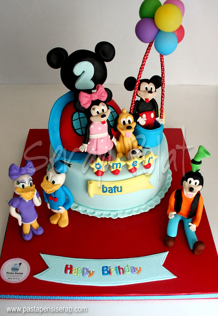 mickey mouse clup house cake