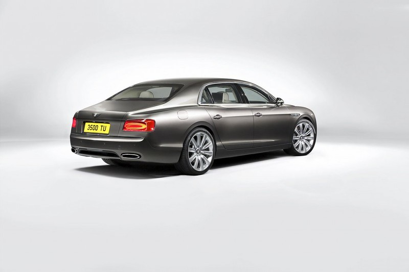 2014 Bentley Continental Flying Spur Rear Side