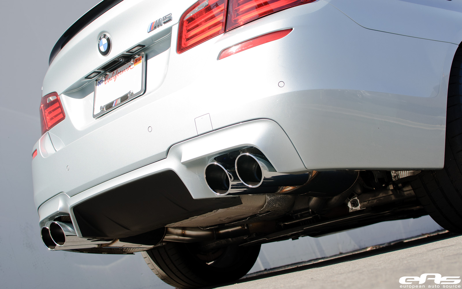 Supersprint M5 Exhaust From Below by eas