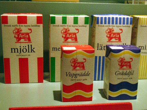 Swedish milk cartoons, Tetrapak, Arla