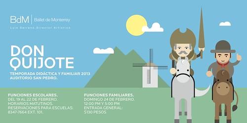 Temporada Didáctica y Familiar 2013 del Ballet de Monterrey