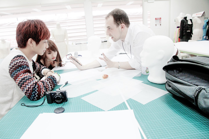 MDIS School of Fashion and Design lecturer with typicalben peishi
