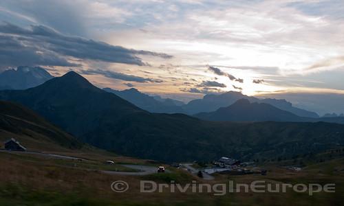 ジアウ峠頂上からの眺め