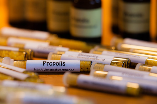Propolis; copyright 2013: Georg Berg