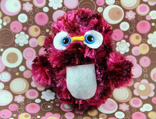 Amigurumi Pink Penguin