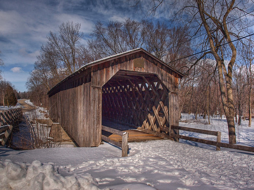 Cedarburg Wooden Bridge
