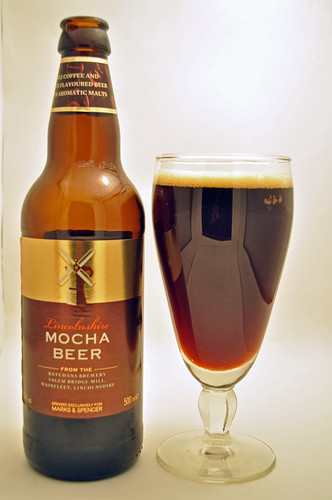 Marks and Spencer Lincolnshire Mocha beer