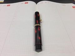 大橋堂の萬年筆とほぼ日手帳カズン