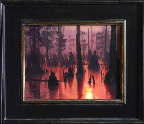 Evening Bayou- SOLD