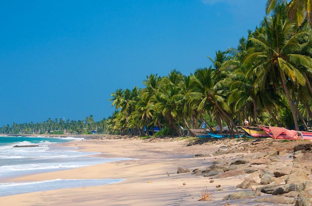 Sri Lanka - Hikkaduwa Beach