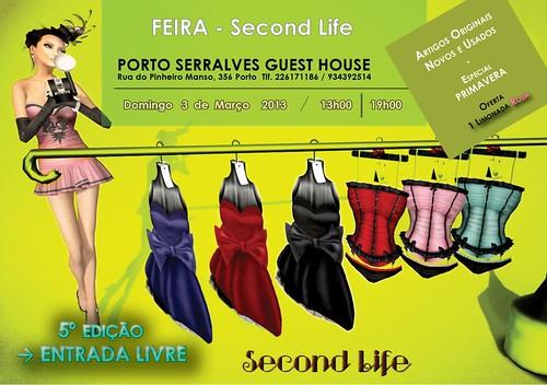 feira second life em Serralves by Linhas Arrojadas Atelier de Costura ® Trademark