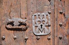 Montblanc, porta de l'església de Santa Maria