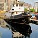 A tug in Poplar Dock Marina