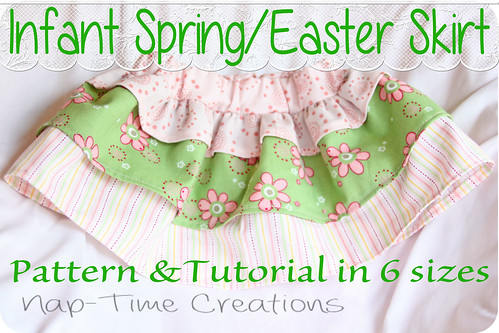 Easter Skirt free pattern