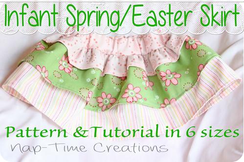 Easter Skirt free pattern